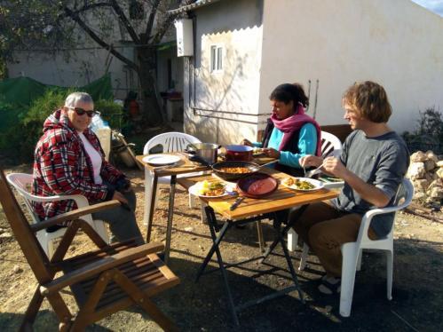 Eva, Sonja und unser Belgier