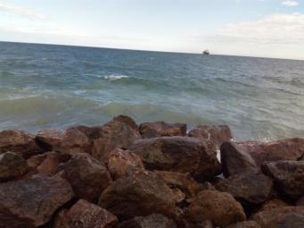 Der Blick aufs Meer