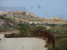 Strand, Castell und Stellmöglichkeit