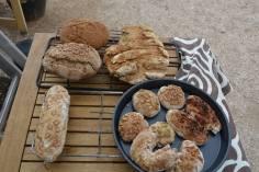 Das Brot ist geebacken