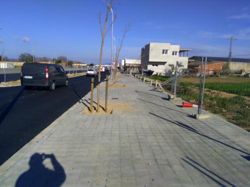 Die ersten Bäume gehen stiften