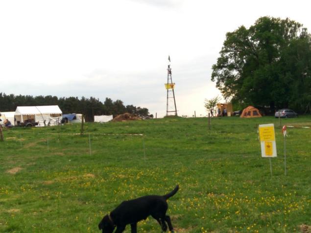 Zeltlager des Rheinischen Widerstands