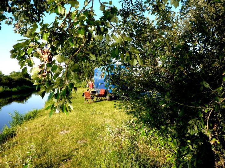An der Zufahrt zum Neusiedler See