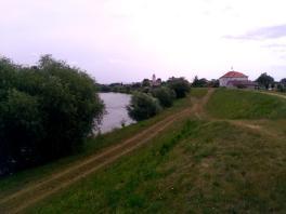 Die Deiche von Zahorska Ves
