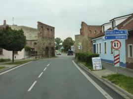 Wir verlassen Straznice
