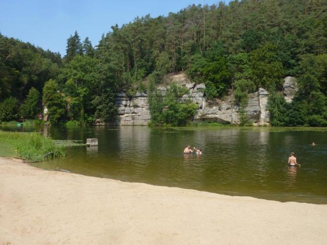 Badestelle bei Harasov