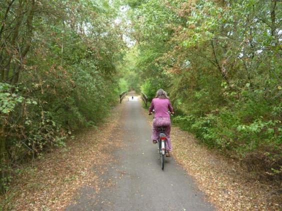 Der Finnebahn Radweg
