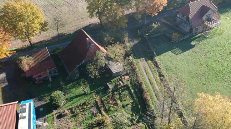 Unser Anwesen mit Selbstversorgergarten