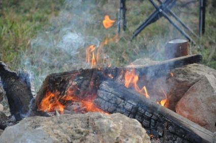 Das Feuer ist bereitet