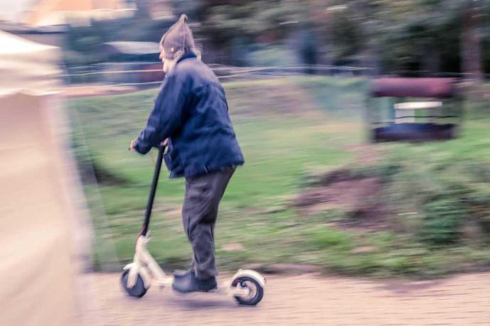 Ich treffe auf modernste Mobilität