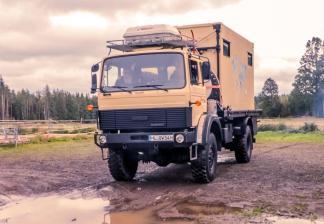 Die Standardlösung: LKW mit Ladung