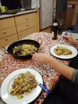 Unser heutiges Abendessen