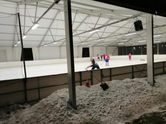 Dann der Eishockeyverein