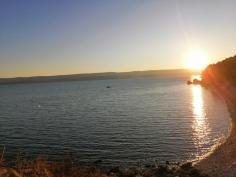 Mein Meeresblick am Abend