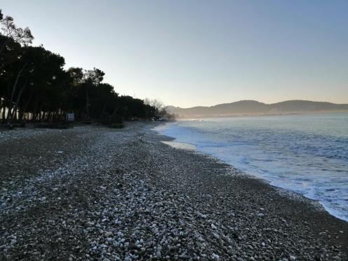 Mein Strand Richtung Norden