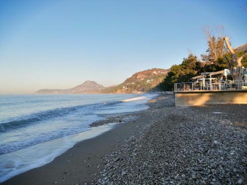 Mein Strand Richtung Süden