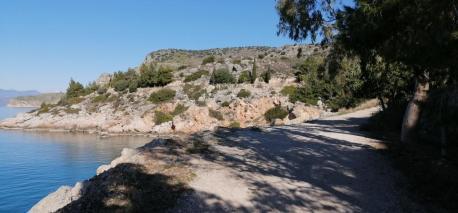 Radweg nach Nafplio