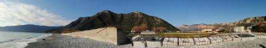Bergpanorama vom Leonidion-Plaka